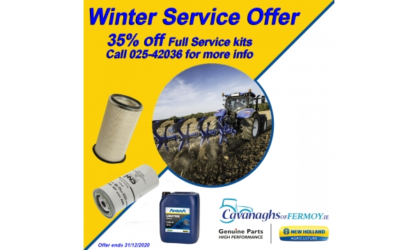 Winter Service Offer!